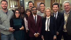 100 tv shows 098 parks and recreation postard