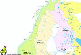 map northern europe scandinavia geoatlas continental maps scandinavia and northern europe