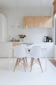 cuisines scandinaves une cuisine épurée au design scandinave tout en bois blond et