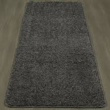 Shaggy Runner Rug Ottomanson Ottomanson Luxury Collection Solid Shaggy Runner Rug 2
