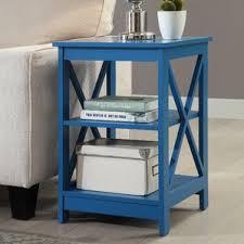 blue end u0026 side tables you u0027ll love wayfair