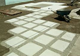 installing patio pavers decoration inspiring large slabs with gravels laying pavers ideas