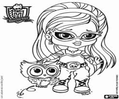 monster baby coloring pages printable games 2