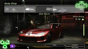 lexus body shop need for speed underground 2 lexus lfa 2012 tuning by united4games
