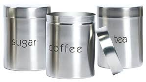 stainless steel canisters kitchen stainless steel kitchen canisters yuinoukin com