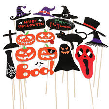 amazon com pbpbox halloween photo booth props 52 pieces diy kit