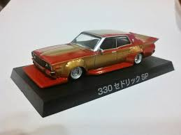 nissan cedric 330 just unveiled aoshima grand champions series 7 nissan 330 cedric