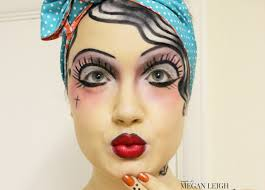 pretty halloween eye makeup classic tattoo pin up halloween makeup maybe its megan leigh