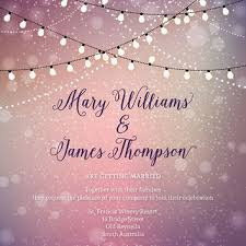 Outdoor Fairy Lights Australia by Twinkle Lights Wedding Invitations From Paperboundlove On Etsy