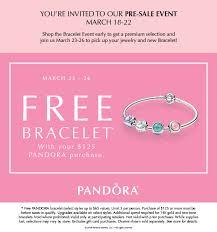 free bracelet images Pandora free bracelet event march 2017 jpg