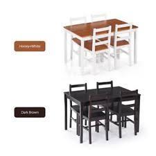 boraam bloomington dining table set boraam 22034 bloomington 6 piece dining room set white honey oak ebay