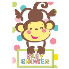 photo create monkey baby shower image