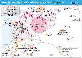 World Map Syria by 10 Facts That Explain The Syrian Humanitarian Crisis The