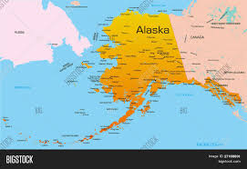 Color Map Of The United States by Alaska Map Map Of Alaska Detailed Ak Map Hawaii Familypedia