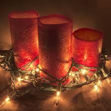 Candles Home Decor Christmas Candles