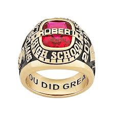 high school class ring companies class rings personalized college high school graduation rings