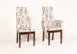 innovative decoration upholstered dining room chairs with arms
