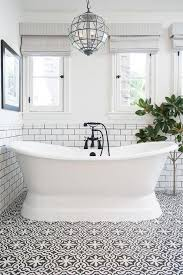bathroom floor tile designs for the home white tile with black grout reflected