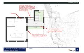earth home floor plans rammed earth home