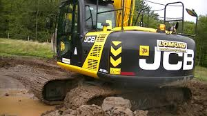 jcb js 130 job done youtube
