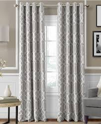 Cool Curtains Decor Cool Brown Macys Curtains Design Ideas With White Wall Also