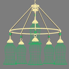 Chandelier Canopy by Canopy Designs Small Sara Glass Chandelier 3d Model Max Obj 3ds