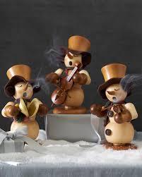 snowman german incense smoker balsam hill