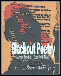blackout poety poems even middle schoolers love writing