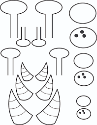 monster horns clipart clipartxtras