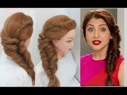 hairstyles for thin braided hair легко сторону косы прически fuller side braid in thin hair easy