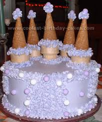 cake cones coolest cake castle photos and how to tips