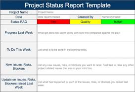 weekly report template ppt project status report template ppt weekly powerpoint best sles