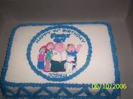 family guy birthday cake cakecentral com