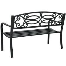 Steel Garden Bench Black Garden Bench Covers Garden Bench Silhouette Old Wooden