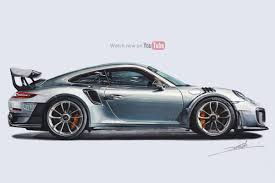 Porsche 911 Gt2 - porsche 911 gt2 rs drawing roman miah draw to drive