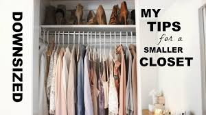 how to organize your closet minimal u0026 pretty konmari method