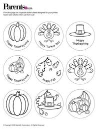 free thanksgiving placecards stickers more for