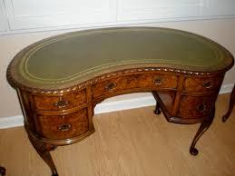vintage desk for sale kidney shaped desk with feng shui thedigitalhandshake furniture