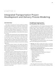 chapter 3 integrated transportation project development and page 25