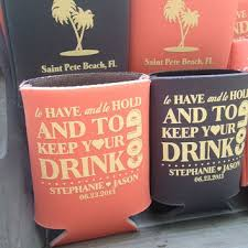 custom wedding koozies shop custom wedding koozies on wanelo