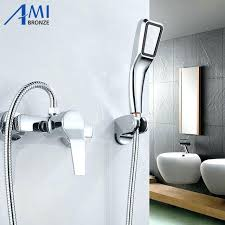 Shower Sets For Bathroom Bathroom Shower Heads And Faucets Outstanding Modern Shower