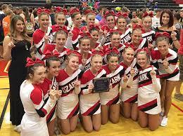 defend the crown ozark cheerleaders win regional focus on