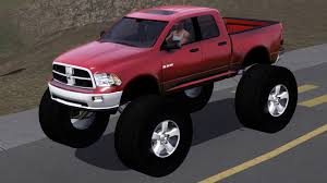 fresh prince creations sims 3 2011 dodge ram monster truck