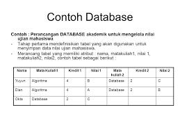 membuat database akademik dengan mysql mengelolah database dengan mysql ppt download