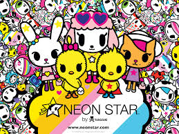 neon star by tokidoki