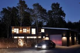 swedish private house contrasting design small design ideas