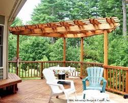 Pergola Top Ideas by Best 25 Deck Pergola Ideas On Pinterest Deck With Pergola