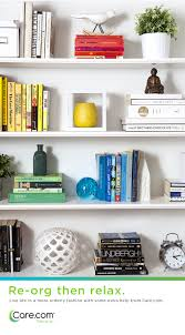 Organizing Bookshelves by Re Org Then Relax Bookshelf Design Small Spaces And Organizing