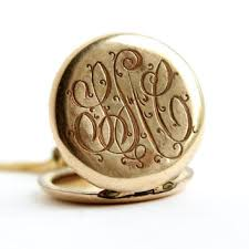 monogrammed locket best initial lockets necklaces vintage products on wanelo