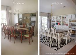 Dining Room Makeover Featuring IKEA Faux Built Ins A Small Snippet - Dining room makeover pictures